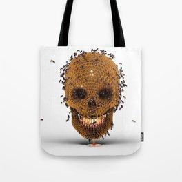Honey Skull Tote Bag