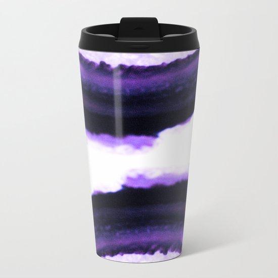 Agate Translucent #Purple #2 #decor #art #society6 Metal Travel Mug