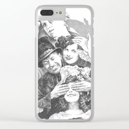 The Hawthorn in the Hands of the Dead (37) Clear iPhone Case