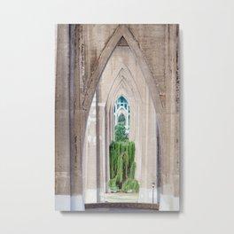 Cathedral Park Portland Metal Print