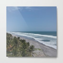 Summer Beach Vibes Metal Print