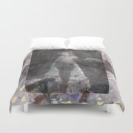 Gems and Gauze Duvet Cover