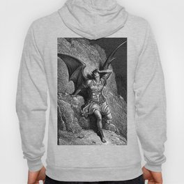 Gustave Dore - Paradise Lost Satan Profile Hoody