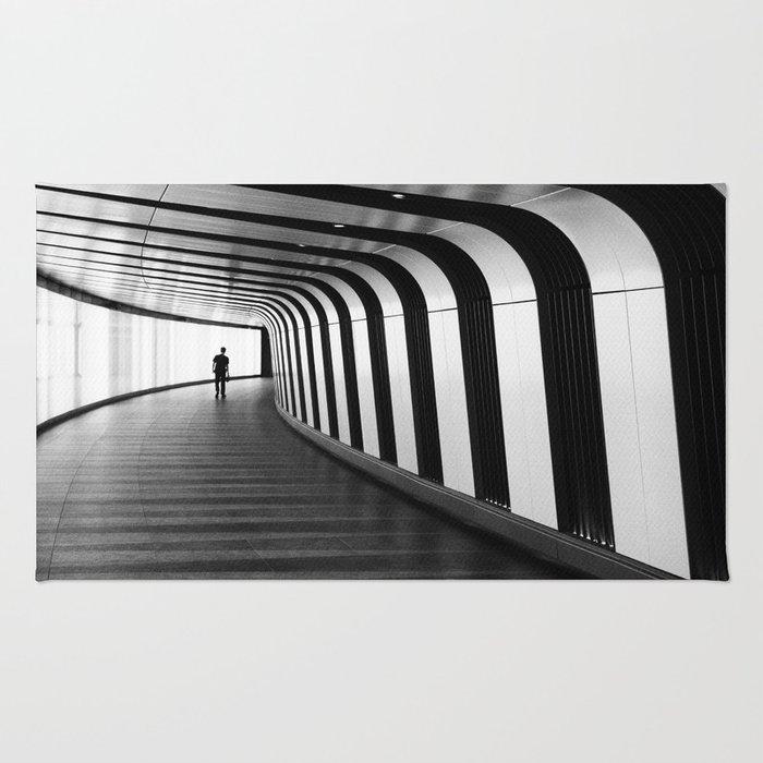 Futuristic Underground Rug