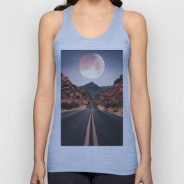 Mooned Unisex Tank Top