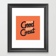 Feelin Framed Art Print