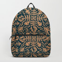 Autumnal Flourish Tiles Backpack