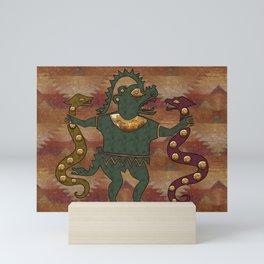 Snake Gods Mini Art Print