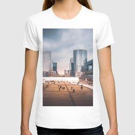 Modern French Cityscape T-shirt