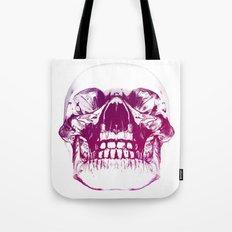 purple crystal skull Tote Bag