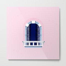 Window of Andalucia | 1 Metal Print