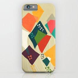 Whimsical kites iPhone Case