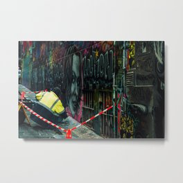 Alley Street Artist Metal Print