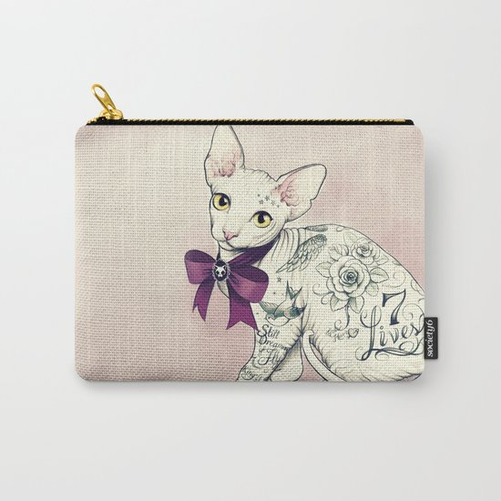 7 Lives Carry-All Pouch