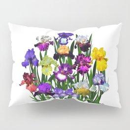 Iris garden Pillow Sham