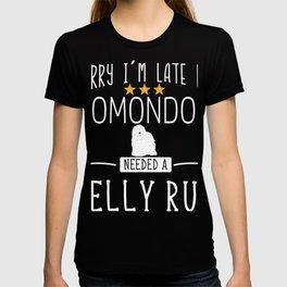 Hungarian Komondor Mop Dog Hungarian Commodore T-shirt