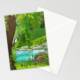 Waterfall and Nature Stationery Cards