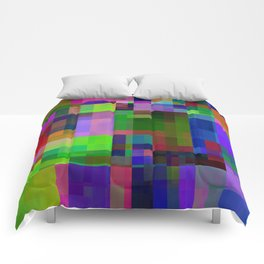 squares and rectangles -103- Comforters