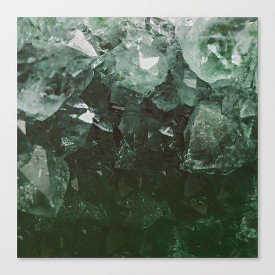 Emerald Gem Canvas Print