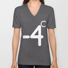 Stickman -4 Degree Unisex V-Neck