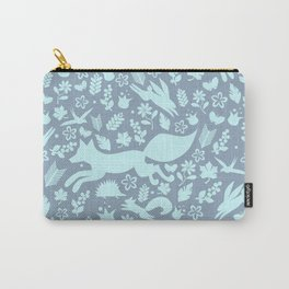 Finnish forest - Winter is here! Carry-All Pouch