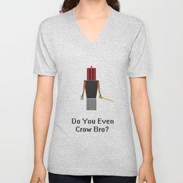 Do You Even Crow Bro? Unisex V-Neck