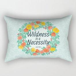 Floral Wildness Rectangular Pillow