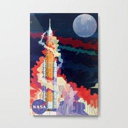 Nasa Sls Rocket Canvas Print Metal Print
