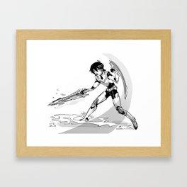 paladin Framed Art Print