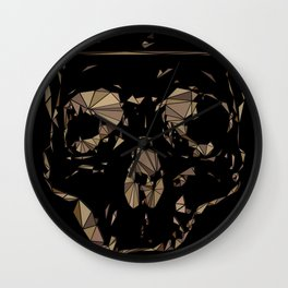 Lady Day Homage (Multifaceted Billie Holiday) Wall Clock