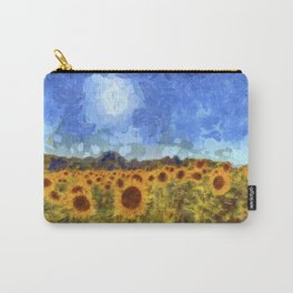The Sunflowers Van Gogh Carry-All Pouch