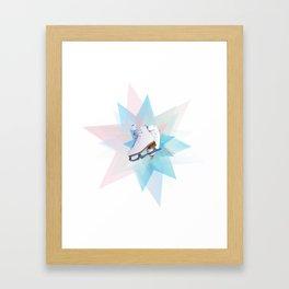 Skating Star Framed Art Print