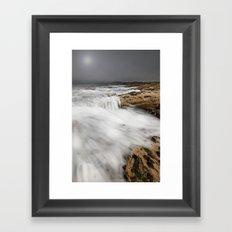 Mistic Sea Framed Art Print