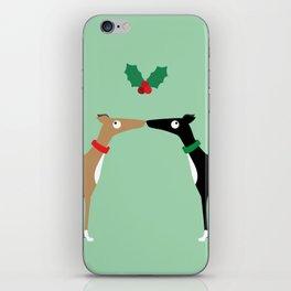 Hound Kiss iPhone Skin