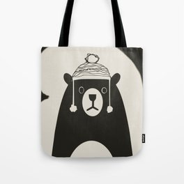 Bear illustration for kids Tote Bag