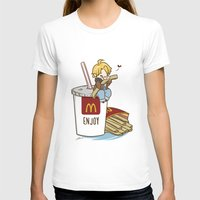 hetalia T-shirts featuring Hetalia - America Loves McDonalds  by BlacksSideshow
