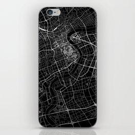 Shanghai Black Map iPhone Skin
