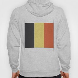 Flag of Belgium. The slit in the paper with shadows. Hoody