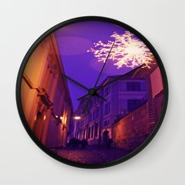 Christmas time in Basel Swiss Wall Clock