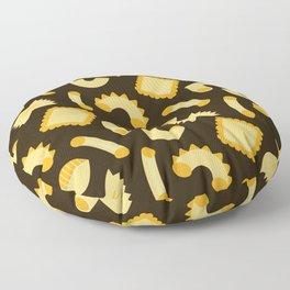 Pasta Shapes Floor Pillow