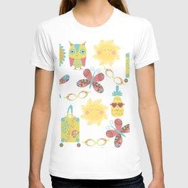 Travel pattern 2u T-shirt
