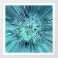 emerald Art Prints featuring Emerald by Armine Nersisian