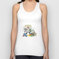 pacific rim Tank Tops featuring Baby Pacific Rim by Bady Church