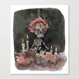 little Bones Canvas Print