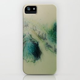 A Dream is a Wish your heart makes 2 iPhone Case