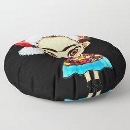 Frida Christmas Floor Pillow