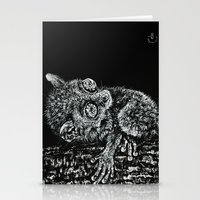 philippines Stationery Cards featuring Bohol Tarsier from the Philippines by Nathan Cole
