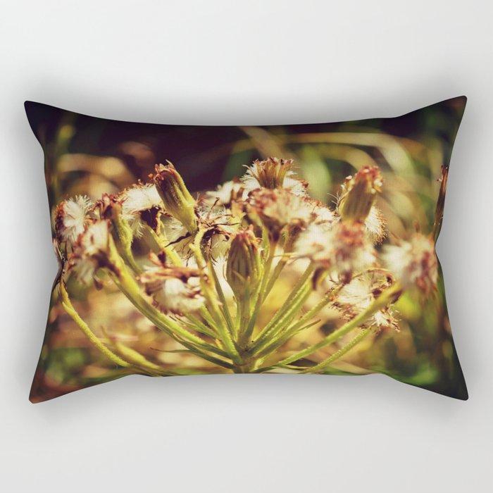 Tinged Tuft Rectangular Pillow