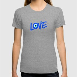 LOVE Greek Eye Design T-shirt