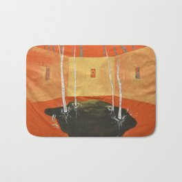 A Room in the Woods Bath Mat